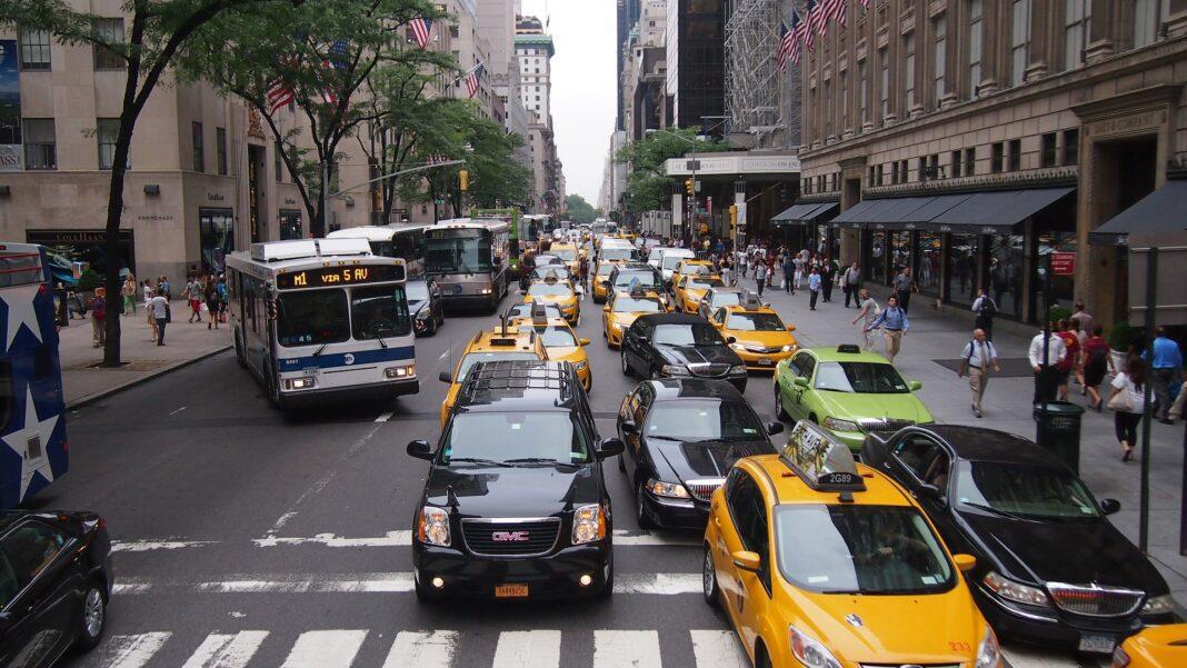 yellow cabs vs. ridesharing