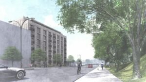 Rendering of 1640-1642 Anthony Avenue